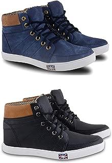 Fabbmate Men's Casulas Shoes Multicolor Pack of 2 Casulas Shoes