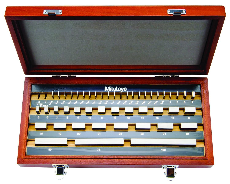Mitutoyo Steel Rectangular Gage Block ASME Grade AS-2 0.45 mm Length