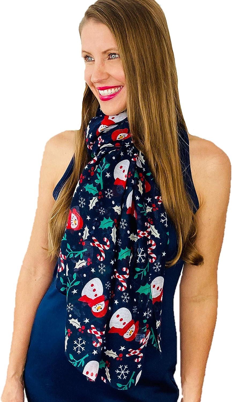 Shimmer Anna Shine Christmas Holiday Scarf