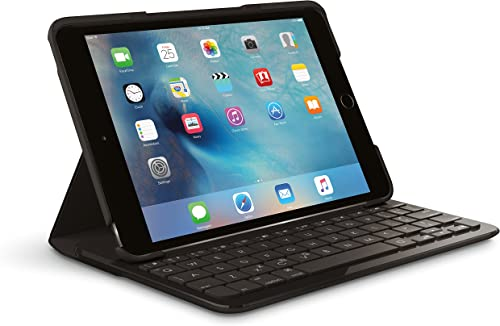 lowest Logitech FOCUS new arrival Protective Case with outlet online sale Integrated Keyboard for iPad Mini 4, Black outlet online sale