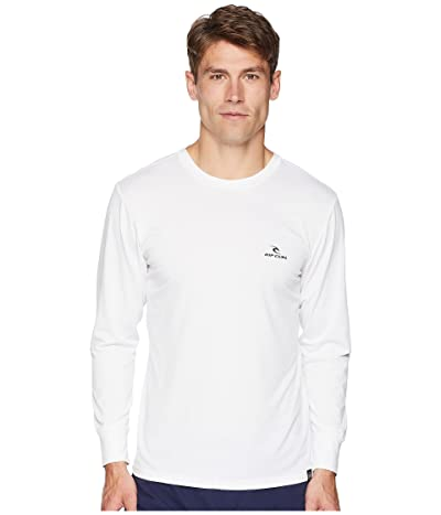 Rip Curl Search Series Long Sleeve (White) Men