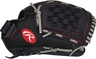 Rawlings R125BGS Renegade Series - Guante de béisbol y Pelota de fútbol