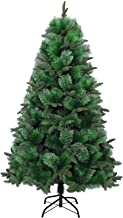 Gifts 4 All Occasions Limited SHATCHI-722 7ft Artificial Christmas Tree with 5 Different Tips(2.1m), Green