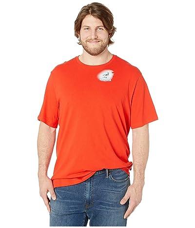 Nautica Big & Tall Big Tall Short Sleeve Island Hops T-Shirt (Firey Red) Men