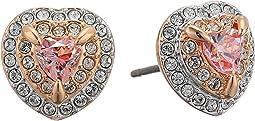 One Stud Earrings Pierced Earrings