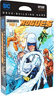 DC Deck-Building Game Crossover Pack 5: The Rogues - Six New Super-Villains to Play - New Teamwork Game Mechanic - Requires DC Deck-Building Game Base Game