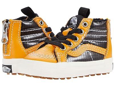 Vans Kids SK8-Hi Zip MTE (Infant/Toddler) ((MTE) Apricot/Black) Boys Shoes