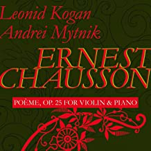 Poeme for Violin and Piano, Op. 25