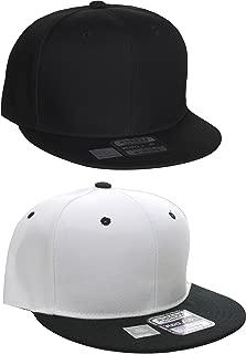 L.O.G.A. Plain Adjustable Snapback Hats Caps Flat Bill Visor