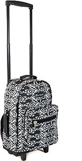 Everest Wheeled Pattern Backpack