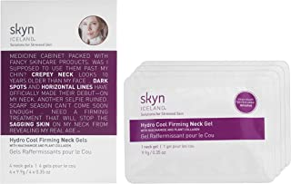 skyn ICELAND Hydro Cool Firming Neck Gels with Niacinamide and Plant Collagen