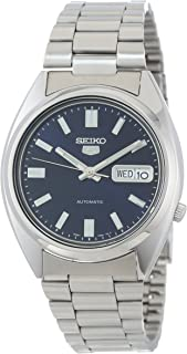 Seiko Men's SNXS77 Seiko 5 Automatic Blue Dial Stainless-Steel Bracelet Watch