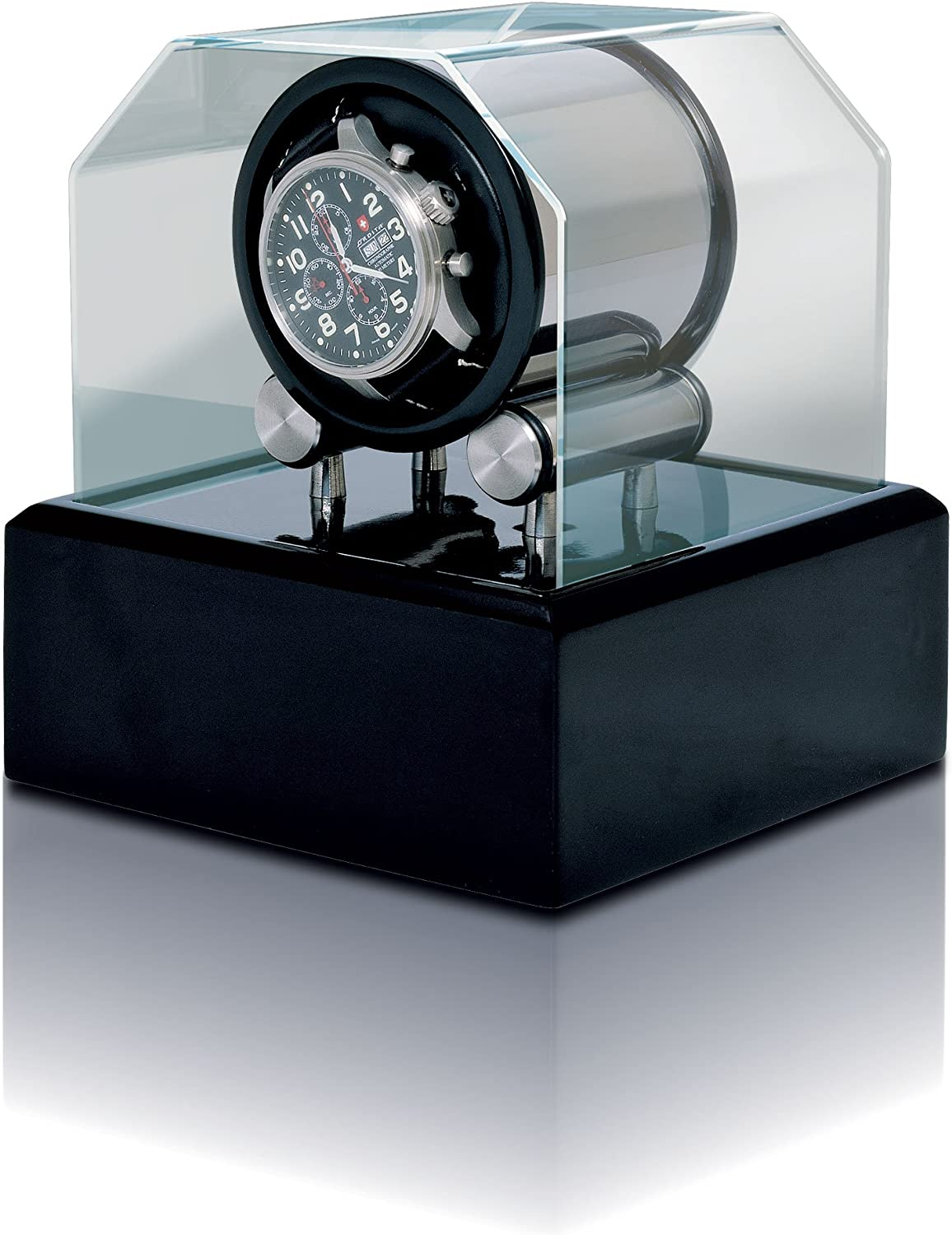 Futura 1 Watch Winder Over item handling 2021new shipping free shipping with Lacquer by Orbita Black Base
