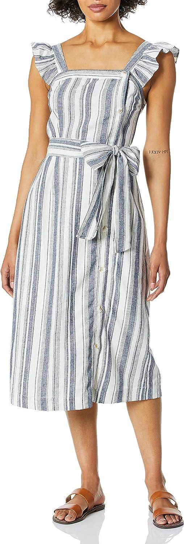 Ella Moss Women's Stacy Belted Midi Dress