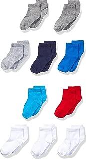 Hanes Baby Boys' Toddler Ankle Sock 10-Pack