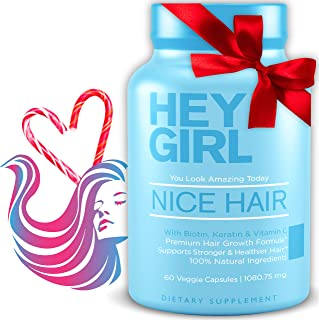 Sponsored Ad - Hair Vitamins To Help Thinning and Fallout - Hair Supplement To Grow Hair Faster , Stronger & Have Healthy ...