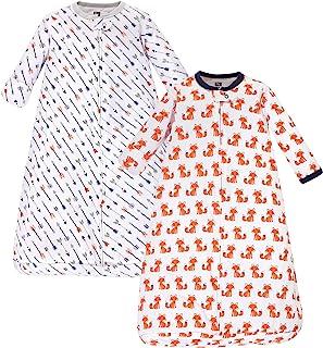 Unisex Baby Cotton Long-Sleeve Wearable Sleeping Bag,...