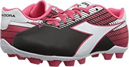 d21390e6f795 Black/White/Pink. 276. Diadora Kids. Ladro MD JR Soccer (Toddler/Little Kid/Big  Kid)