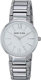 Anne Klein Women's AK/3201 Swarovski Crystal Accented Bracelet Watch