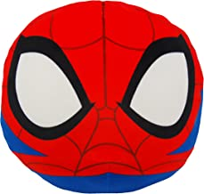 Marvel's Spider-Man, Spider-Man 3D Ultra Stretch Cloud Pillow, 14 Round, Multi Color