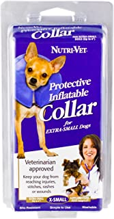 Nutri-Vet Protective Inflatable Collar for Dogs, X-Small