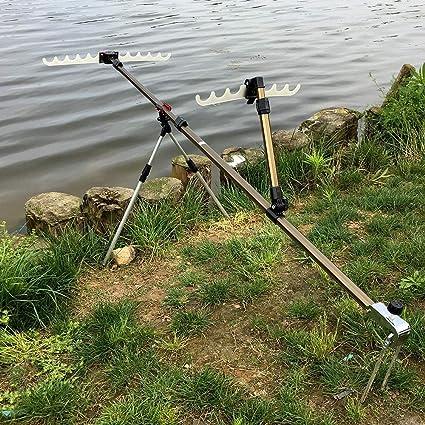 Jidan Sostenedores de la Barra de Pesca de la batería Po ...