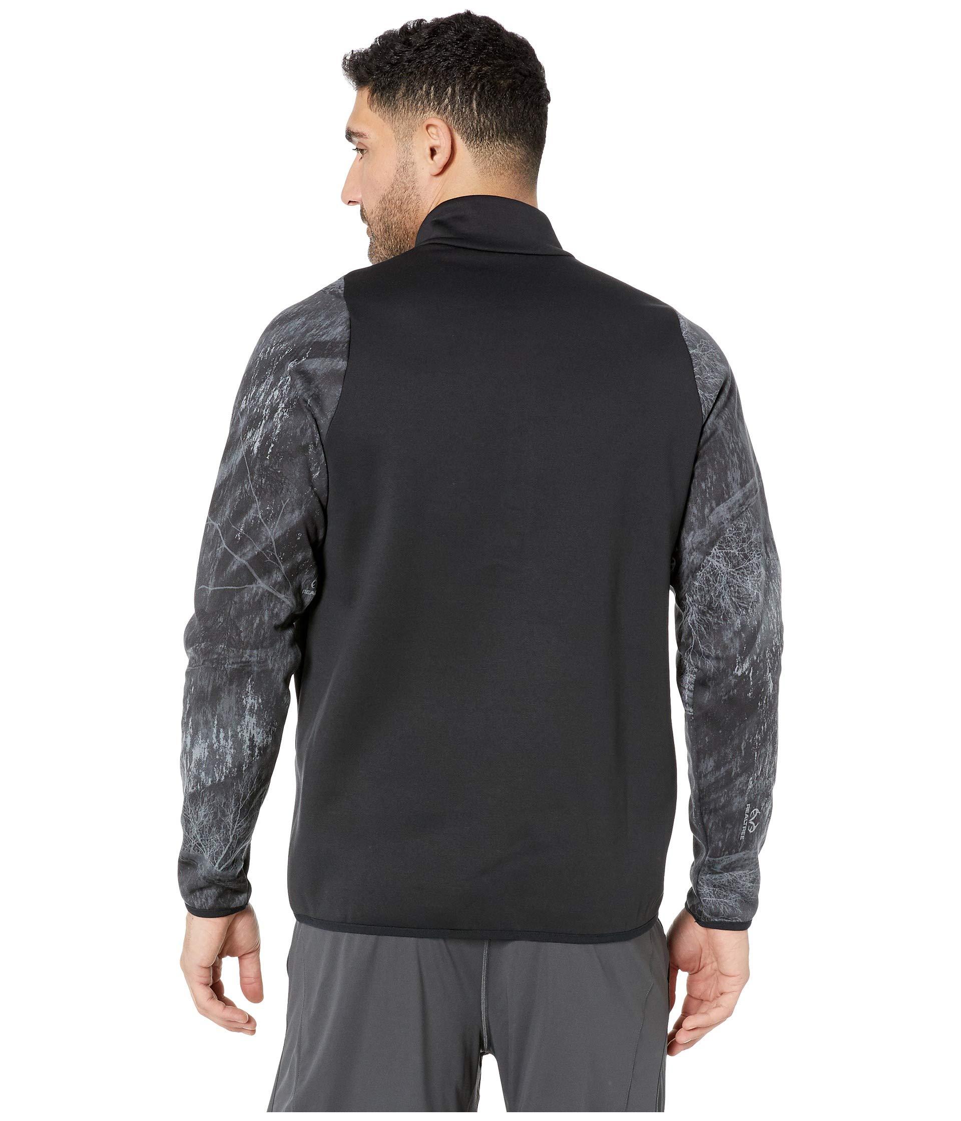 Therma Long 4 Special 1 dark Grey Nike Forces Top Sleeve Black Zip EpwH7Wqdf