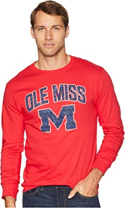 Ole Miss Rebels Long Sleeve Jersey Tee