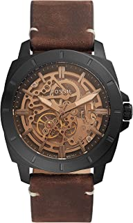 FOSSIL MENS PRIVATEER SPORT LEATHER WATCH - BQ2429