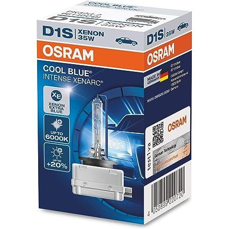 Osram Xenarc Cool Blue Intense D1s Hid Xenon Brenner Entladungslampe 66140cbi Faltschachtel 1 Stück Auto