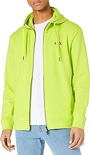 Armani Exchange Men's Acid Lime Sweatshirt