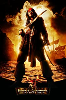 "Trends International Pirates of The Carribbean 2 Jack Wall Poster 22.375"" x 34"""