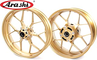 Arashi Wheel Rims Front and Rear for HONDA CBR1000RR 2008-2016 Motorcycle Replacement Accessories CBR 1000 RR 1000RR CBR1000 ABS Repsol SP Gold 2009 2010 2011 2012 2013 2014 2015