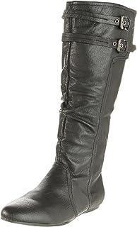 Naughty Monkey Women's Venus Boot,Black,6.5 M US