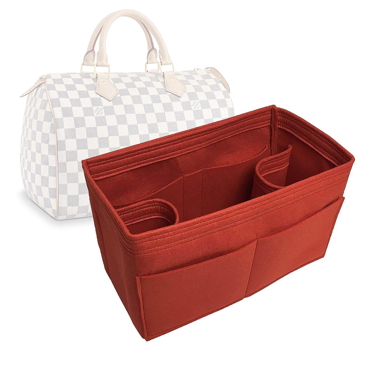 Bag Organizer for LV Speedy 30 Felt Handmade Jacksonville Mall Color 20 Premium - Latest item