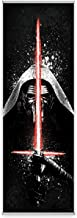 Star Wars Kylo's Menace FanPanel Authentic Lucasfilm Entertainment Licensed Art. Ideal Wall Art, Game Room Decor and Star Wars Collectible Art. 72 Inches Tall by 24 Inches Wide. No Tools Required.