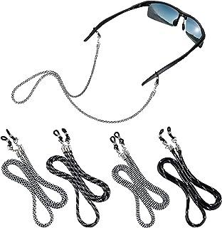 Eyeglass accessory-4 Pack Eyeglasses Holder Strap Cord/Eyewear Retainer Holders