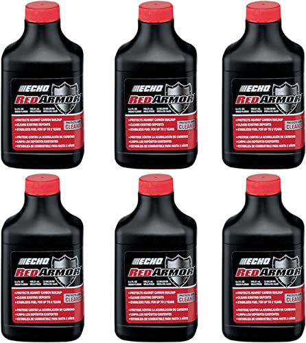 high quality ECHO 6550025 PK6 Red wholesale Armor 6.4oz high quality 2-Stroke Oil Mix, 2.5 Gallon (50:1) outlet sale