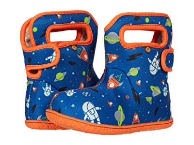 Bogs Kids Baby Bogs Spaceman (Toddler) (Blue Multi) Boy