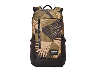 Burton Prospect 2.0 Backpack (Martini Olive Woodcut Palm) Backpack Bags