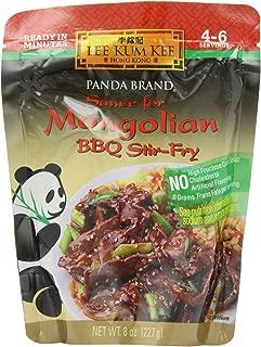 Panda Sauce For Mongolian Beef,BBQ Stir Fry, 8-Ounce (Pack of 6)