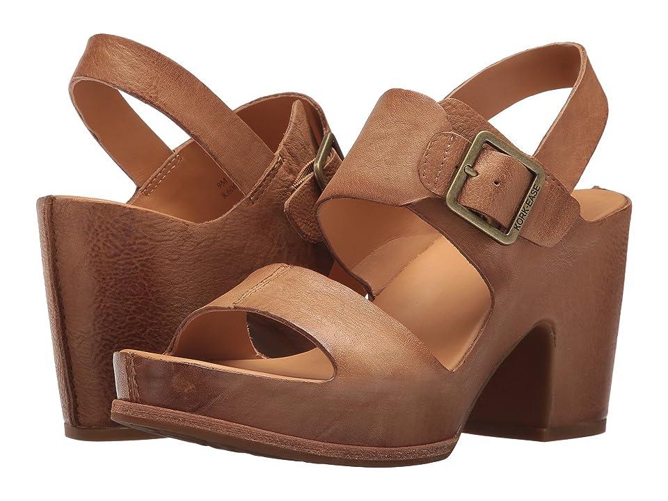 Kork-Ease San Carlos (Light Brown Full Grain Leather) High Heels