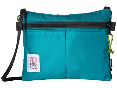 Topo Designs Accessory Shoulder Bag (Turquoise 1) Bags
