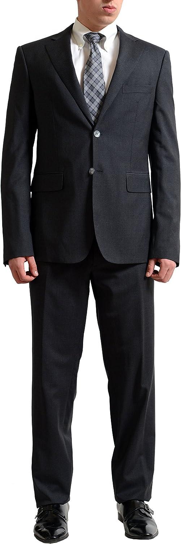 DSQUARED2 'Toronto El Paso Mall Cut' Men's price Gray 100% US Wool Striped Suit 42