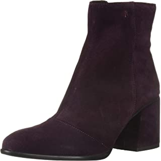 A|X Armani Exchange Womens XDN006XV021 Suede Boot with Block Heel