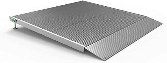 EZ-ACCESS TRANSITIONS Aluminum Threshold Ramp with Adjustable Height up to 5-7/8