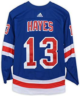 Kevin Hayes New York Rangers Game-Used #13 Blue Set 2 Jersey from the 2018-19 NHL Season - Size 58 - Fanatics Authentic Certified
