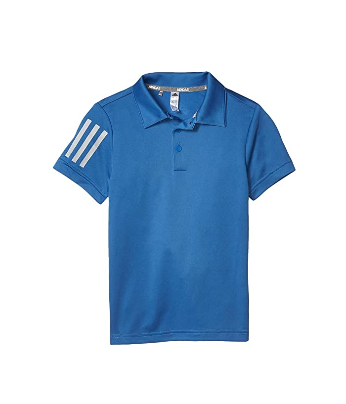 adidas Golf Kids  3-Stripes Polo Shirt (Little Kids/Big Kids) (Trace Royal) Boys Clothing