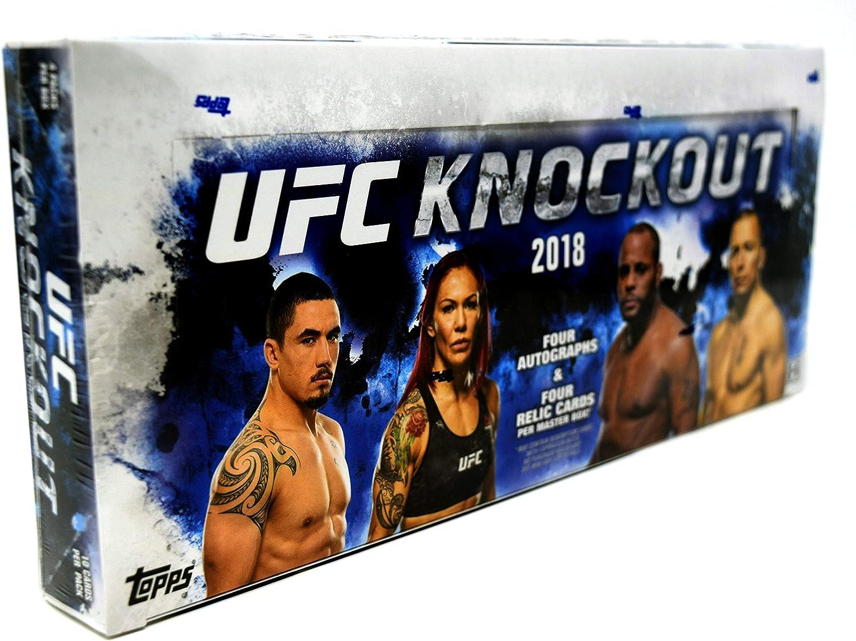 2018 Topps UFC Knockout Hobby Box (2018 Topps UFC Knockout Hobby Box)