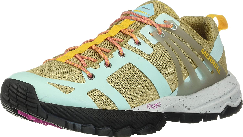 Merrell Women's J52708 MQM Ace Hiking - 信用 Shoe 5 おしゃれ M Aqua Starfish